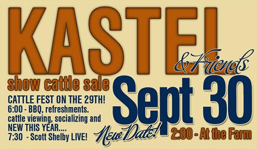 kastel6 Kastel Show Cattle Sale   This Weekend